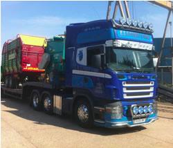 Wide load handling